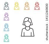 line illustration of eight...   Shutterstock .eps vector #1411260830