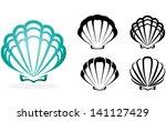 shell collection   vector... | Shutterstock .eps vector #141127429