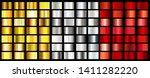 set of metallic gradients... | Shutterstock .eps vector #1411282220