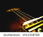 playing music with guitar. in... | Shutterstock . vector #1411318760