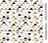 triangle seamless pattern....   Shutterstock .eps vector #1411319093