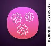 stele app icon. star shaped...