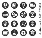 icons set of technology ... | Shutterstock .eps vector #1411398863