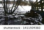 Beautiful White Snow And Bridge ...