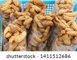 boiled peanuts at street food   Shutterstock . vector #1411512686
