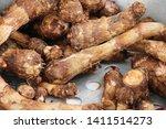 sweet potato boiled delicious...   Shutterstock . vector #1411514273