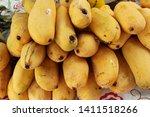 ripe mango fruit delicious at...   Shutterstock . vector #1411518266