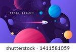 vector illustration on the... | Shutterstock .eps vector #1411581059