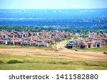Urban Sprawl in Lakewood, Colorado.