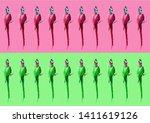 crazy colorful ultraviolet... | Shutterstock . vector #1411619126