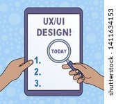 word writing text ux or ui...