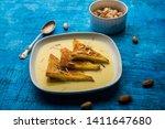 shahi tukra tukda or double ka...   Shutterstock . vector #1411647680