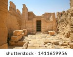 Ruins Of Egyptyan Temple Of...