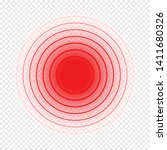 vector pain dot or circle... | Shutterstock .eps vector #1411680326