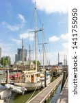 rotterdam   netherlands   06 05 ... | Shutterstock . vector #1411755050