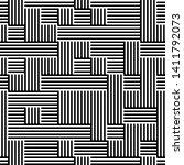 full seamless modern geometric...   Shutterstock .eps vector #1411792073