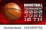 basketball modern sports poster ... | Shutterstock .eps vector #1411859756