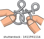 image illustration playing in... | Shutterstock .eps vector #1411941116