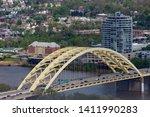 Daniel Carter Beard Bridge, also known as the Big Mac Bridge and surrounding areas.