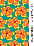 seamless pattern in the form of ... | Shutterstock .eps vector #1411991459