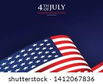 4th july independence day... | Shutterstock .eps vector #1412067836