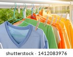 Dry Clothes In Bright Colors I...