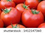 fresh tomato. red tomato. image | Shutterstock . vector #1412147360