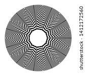 circle geometric pattern.... | Shutterstock .eps vector #1412172560