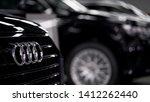 Small photo of Phuket,Thailand-May 30,2019 :Audi cars in garage of Audi Phuket Showroom.