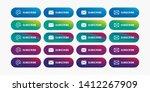 newsletter subscribe buttons  ... | Shutterstock .eps vector #1412267909