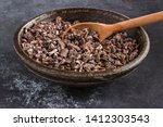 Cacao Nibs In A Bowl