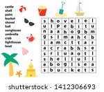 educational word search game....   Shutterstock .eps vector #1412306693