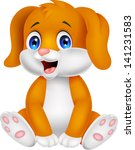 Cute Baby Dog Cartoon