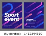 template design with dynamic... | Shutterstock .eps vector #1412344910