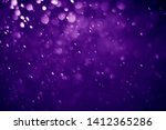 bokeh purple proton background...   Shutterstock . vector #1412365286