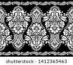 seamless black and white... | Shutterstock .eps vector #1412365463