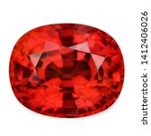 Natural Ruby Blood Red Clear...