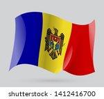 flag of andorra  vector eps 10... | Shutterstock .eps vector #1412416700