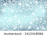 abstract blue background with... | Shutterstock .eps vector #1412418086