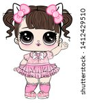 Lol Doll Design For Baby T Shirt