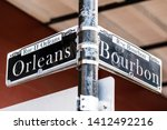 orleans and bourbon...   Shutterstock . vector #1412492216