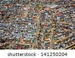 aerial view of informal... | Shutterstock . vector #141250204