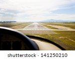cirrus light aircraft... | Shutterstock . vector #141250210