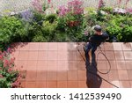 Cleaning Stone Slabs With The...