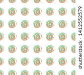 cheerful seamless pattern with... | Shutterstock . vector #1412552579