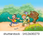 Children's Fairy Tales Bear And ...