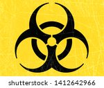 sign indicating the presence of ...   Shutterstock . vector #1412642966
