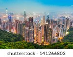Hong Kong Skyline. View From...
