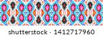 ethnic embroidery. seamless... | Shutterstock . vector #1412717960