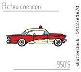 color vector icon american fire ...   Shutterstock .eps vector #1412761670